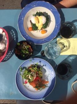 Unbelievable breakfast @ Café Dyrehaven, Copenhagen