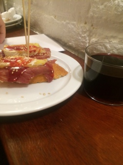Pinchos & good wine, Gastarea, Barcelona